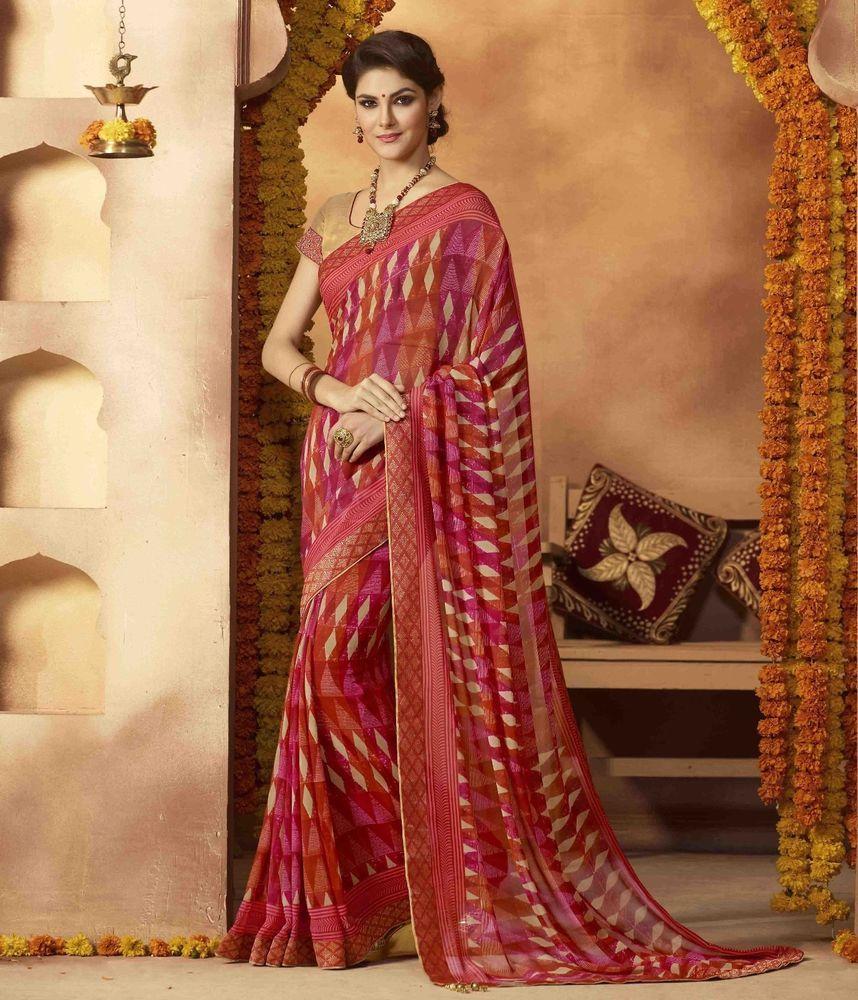 New designer sari indian saree ethnic bollywood pakistani wedding