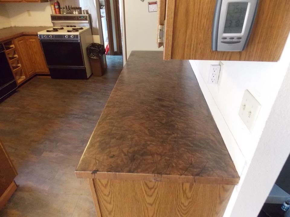 Concrete resurfacing epoxy flooring stained concrete