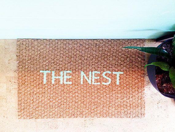 The Nest Coir Doormat Door Mat Coir Doormat Coir