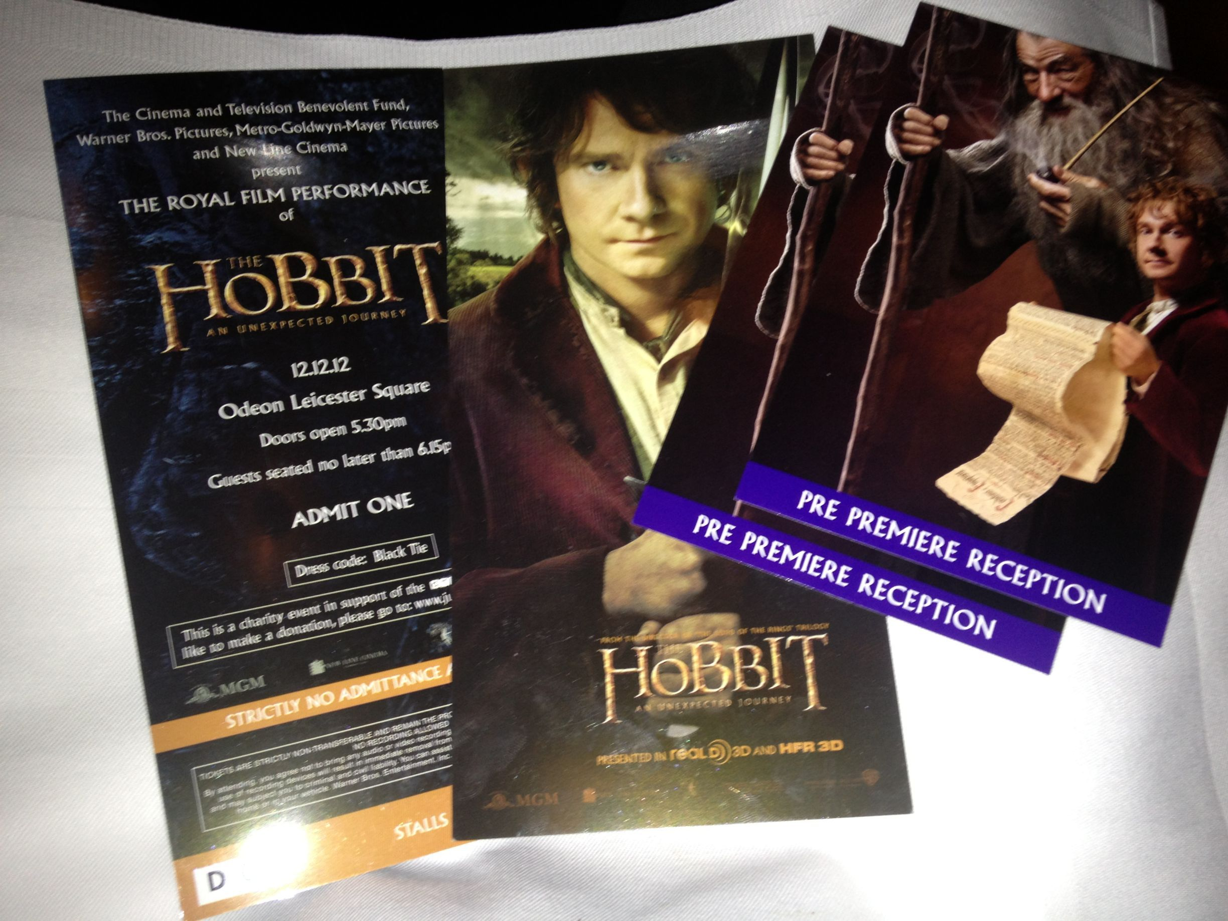 Pics from The Hobbit Royal Premiere in London last night