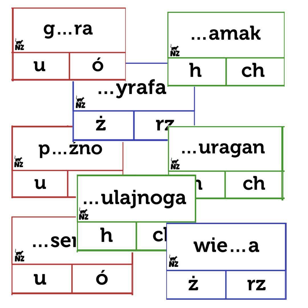 Ortografia Klamerkowa Pomoce Dydaktyczne