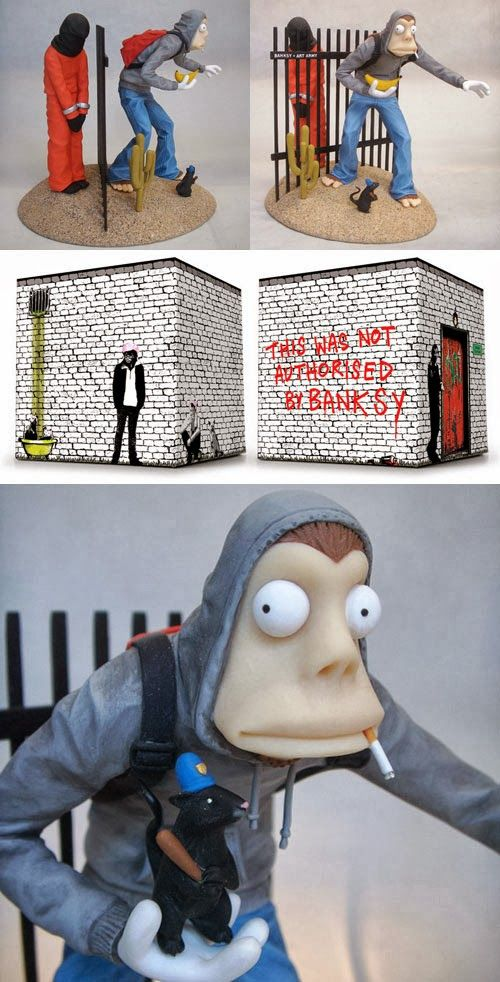 Banksy Art Army figure from Mike Leavitt