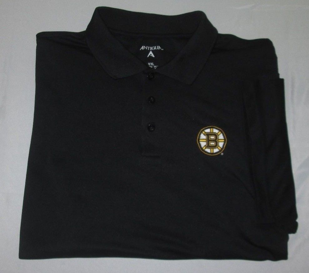 BOSTON BRUINS NHL Polo Golf Shirt Sz