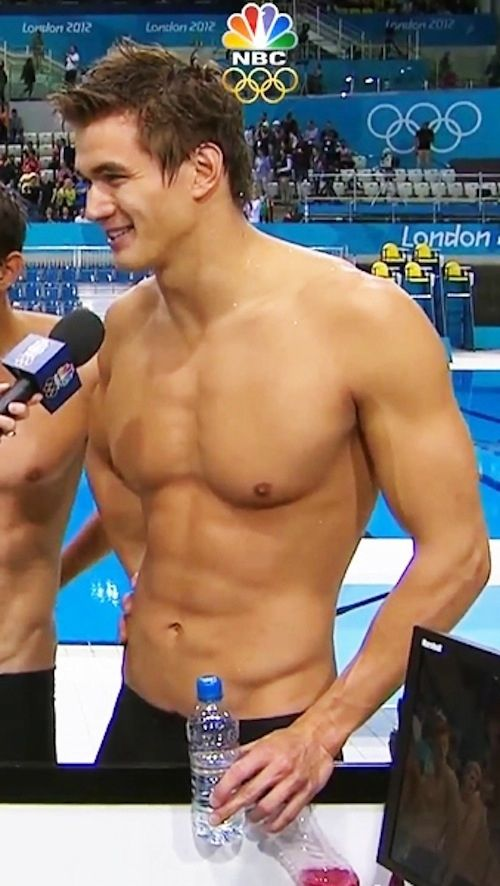 Hot male swimmers