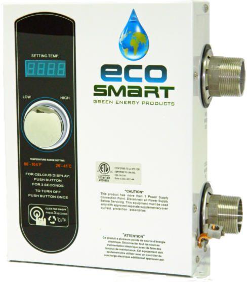 Ecosmart Smart Spa 11 Electric Spa Water Heater Spa Heater Pool Heater Best Solar Panels