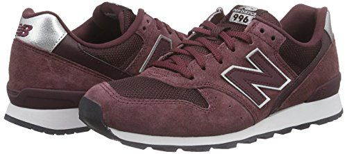 New Balance Damen WR996 Sneakers, Rot (Burgundy), 40.5 EU ...