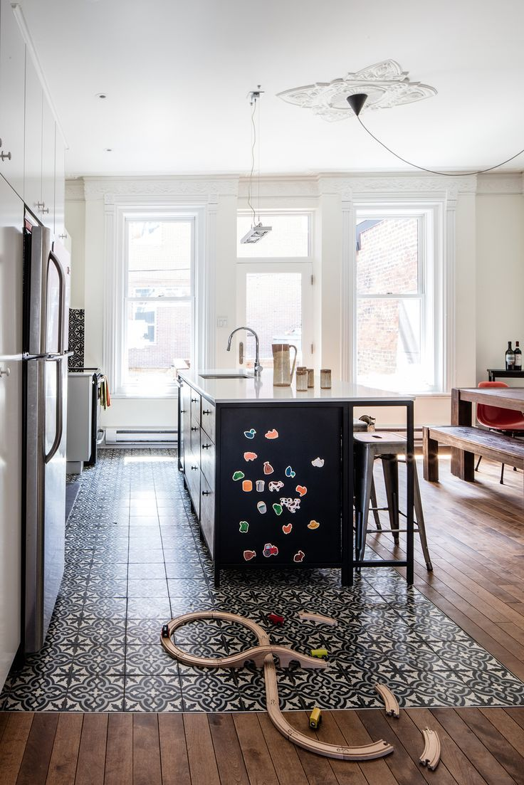 Photo of Historic Montreal House Meets DIY IKEA – #DIY #floors #Historic #house #IKEA #me…