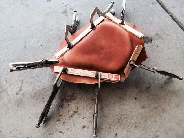 Diy Bobber Motorcycle Seat Motorcycle Motorcycle Seats Bobber