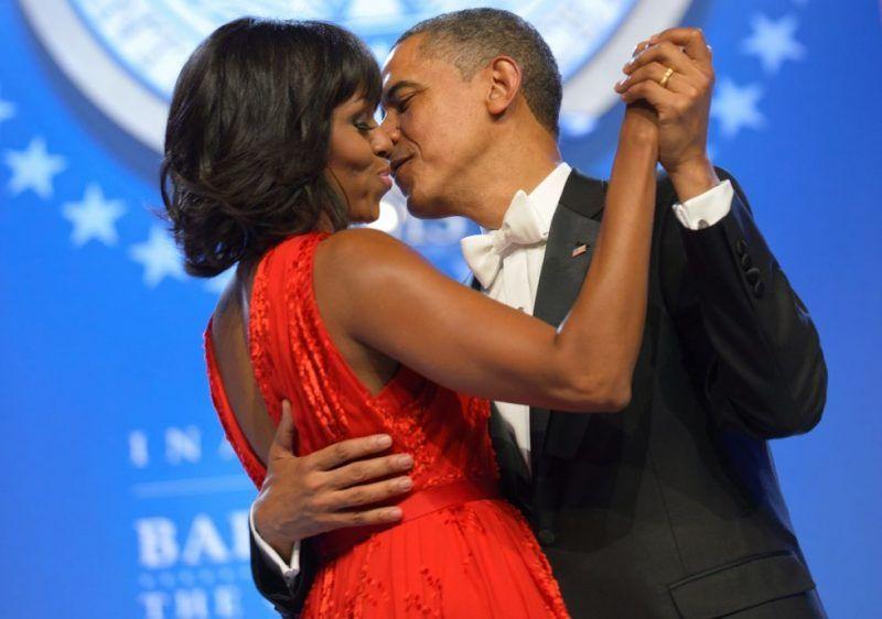 Celebrating Barack and Michelle Obama