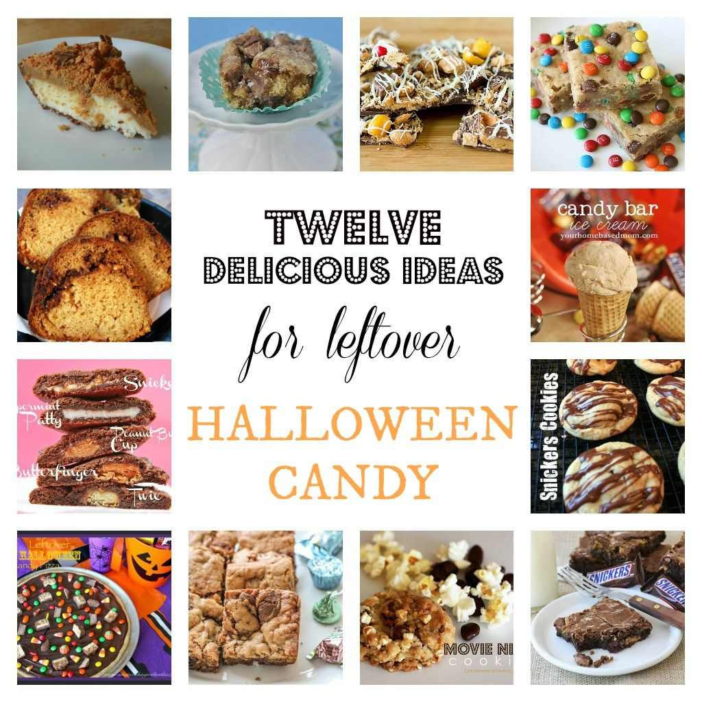 halloween candy leftover recipes