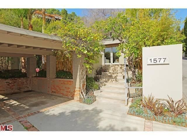 Great private WeHo home.