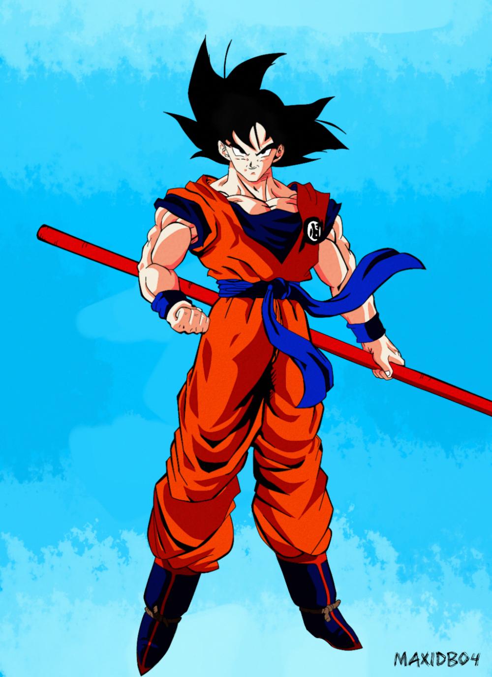 90 S Style Dragon Ball Z Attempt 2 Dbz Dragon Ball Super Goku Dragon Ball Image Dragon Ball Z