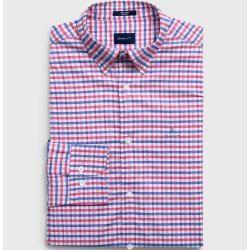 Photo of Handschuh Regular Tech Prep ™ Jaspis Gingham Oxford Hemd (Pink) Handschuh