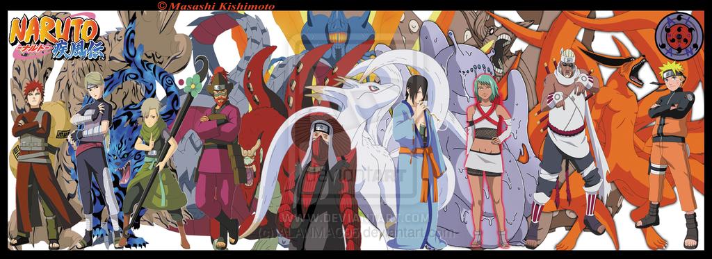 tailed Naruto beasts shippuden