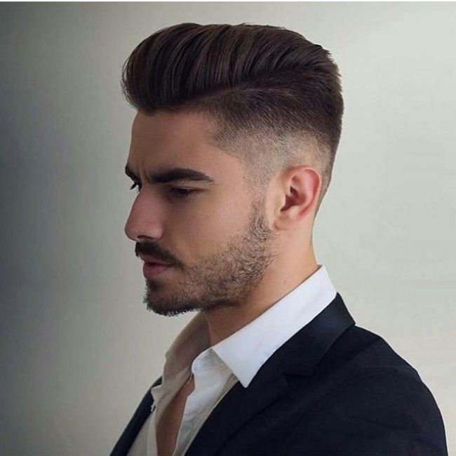 back comb hair style tapered back comb hubs haircuts hair 8406
