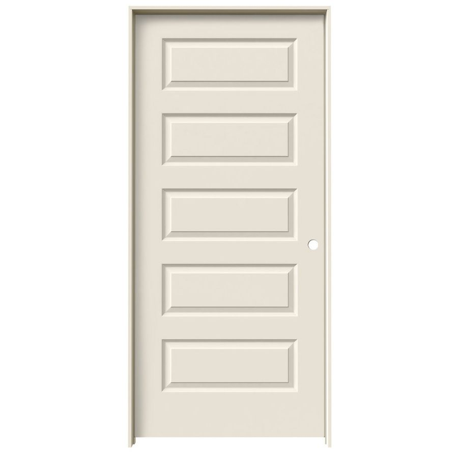 Awesome Shop JELD WEN Rockport Primed Solid Core Molded Composite Single Prehung  Interior Door (Common: X Actual