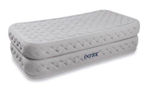 INTEX Twin Supreme Air Flow Bed Raised Airbed Mattress & Pump * CONTINUE @ http://www.usefulcampingideas.com/store/intex-twin-supreme-air-flow-bed-raised-airbed-mattress-pump/?a=0764