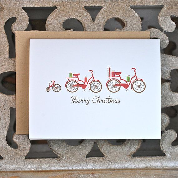 Christmas Cards . Holiday Card Set . by SweetBellaStationery, $18.00