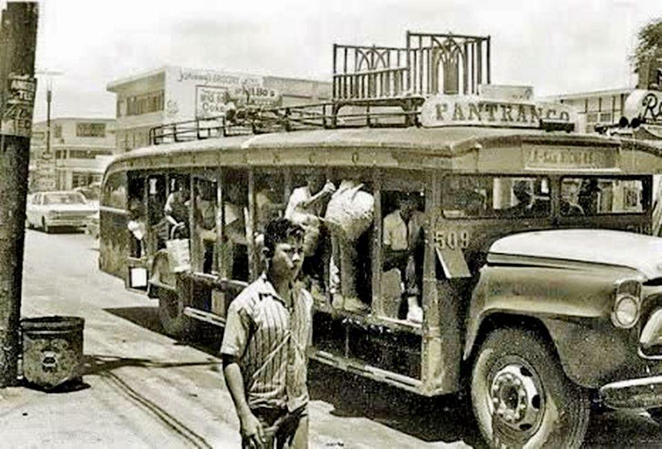 Vintage Pantranco Photo Ctto Philippines Culture Manila Jeepney