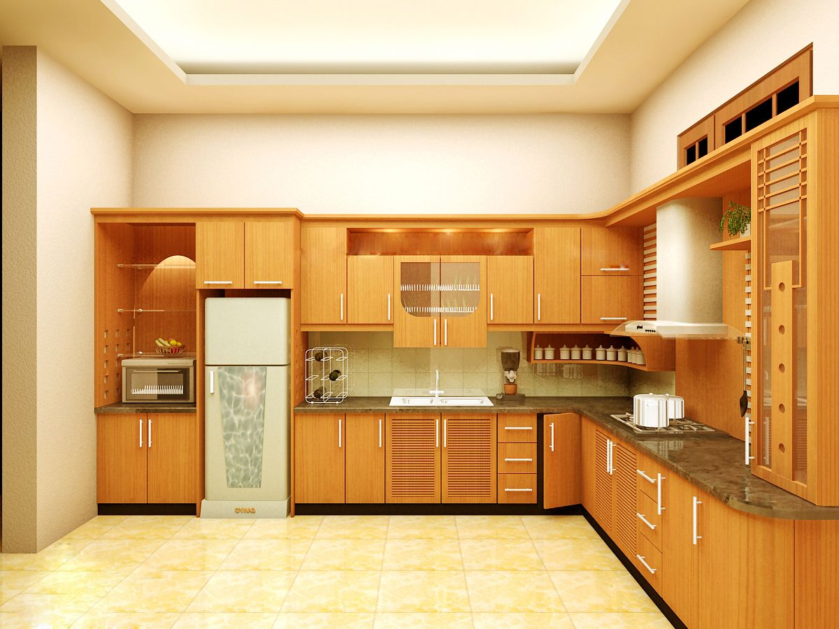 Báo giá tủ bếp gỗ hấp dẫn tại TPHCM   Tủ bếp
