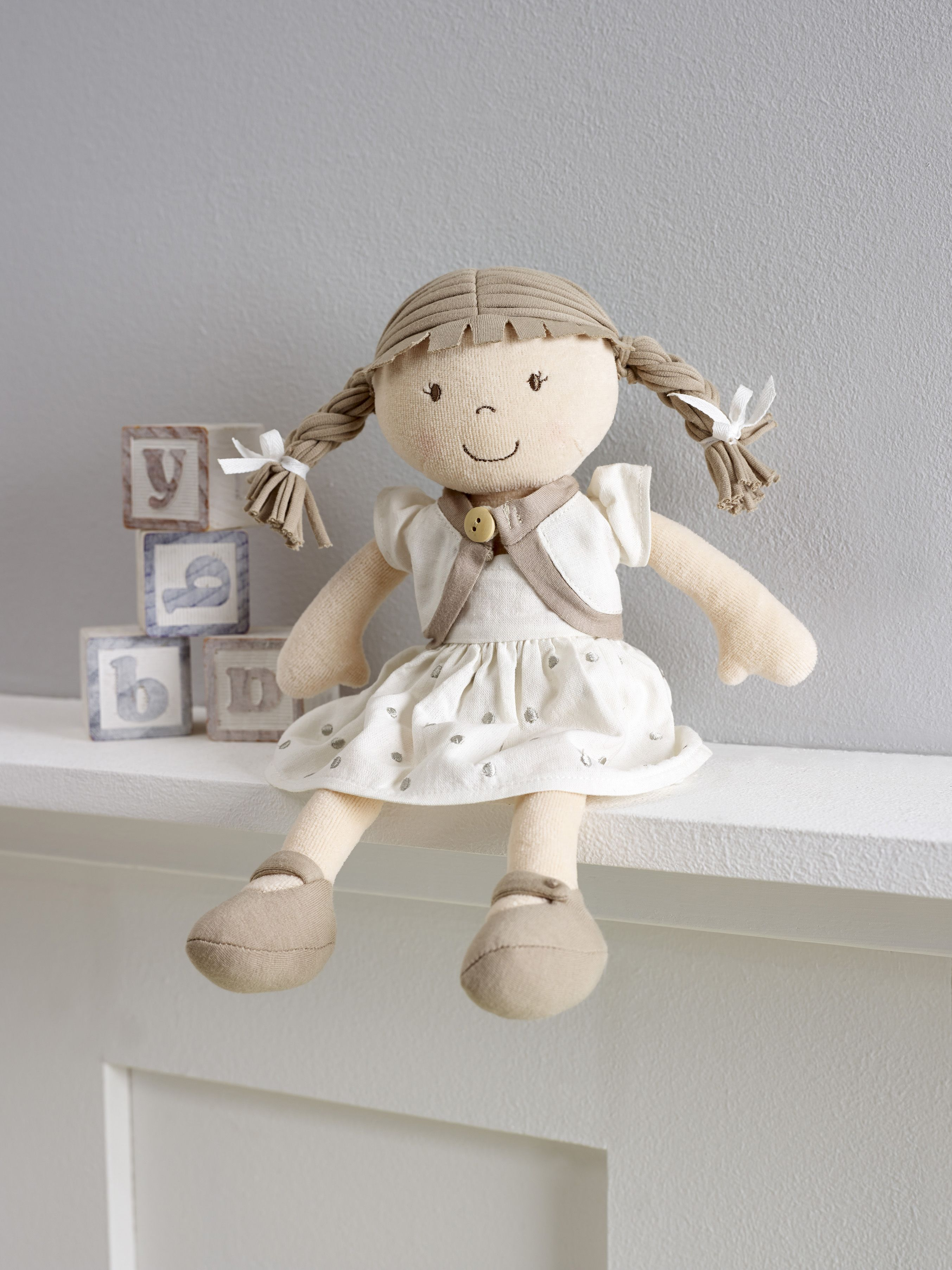 This luxurious award winning ragdoll is made from 100% organic