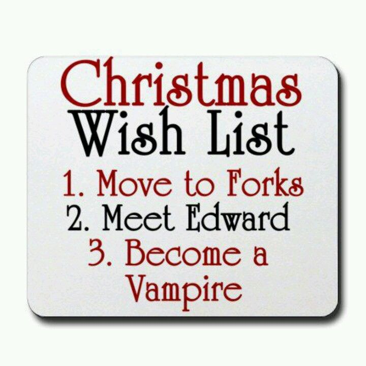 Or, move to Forks, be imprinted by Jacob, become werewolf is cool too
