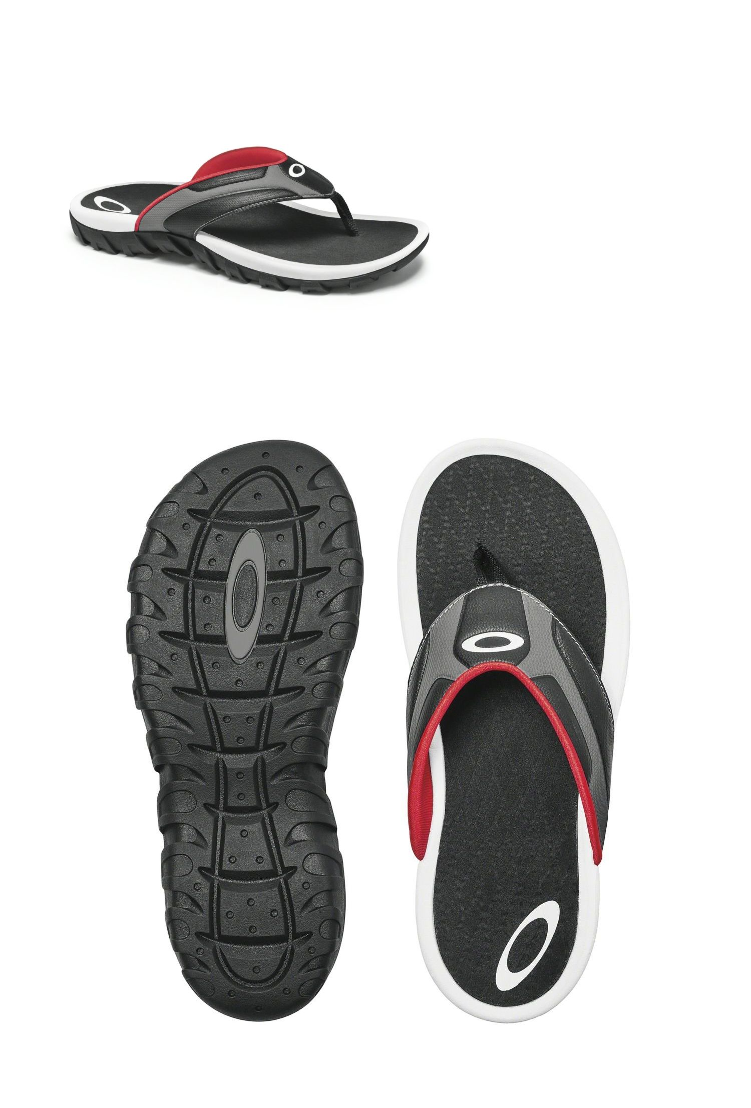534bd350ae5 Sandals and Flip Flops 11504  New Oakley Men Refraction Sandals Flip Flop  Bob Romeo Medusa Xx Size 10