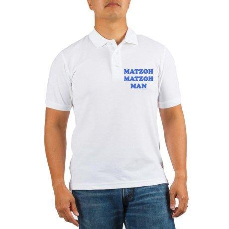 6f47c7dd9 Matzoh Man Passover Polo Shirt | PASSOVER GIFTS | Golf shirts, Polo ...