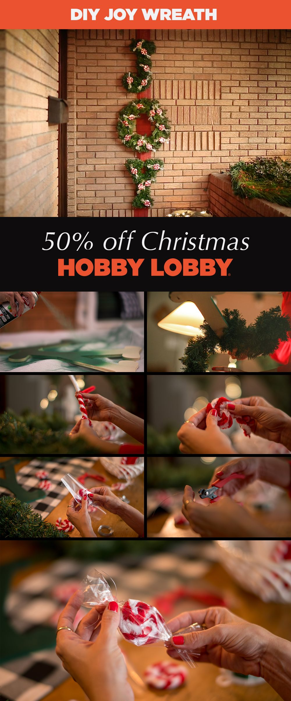 Hobby Lobby Christmas Wreaths.50 Off Christmas At Hobby Lobby Christmas Is