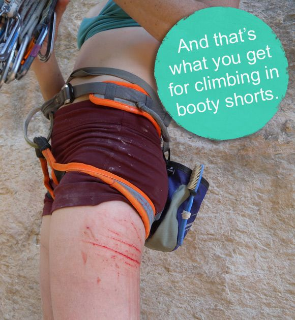 What not to Wear Climbing :)