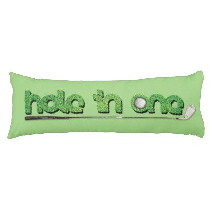 Awesome Hole In One Golf Themed Body Pillow Zazzle Com Home Gmtry Best Dining Table And Chair Ideas Images Gmtryco