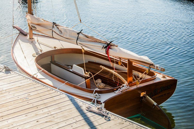 Joel White Marsh cat 15 ft | Boats etc | Pinterest | Boating, Wooden boats and Wooden boat building