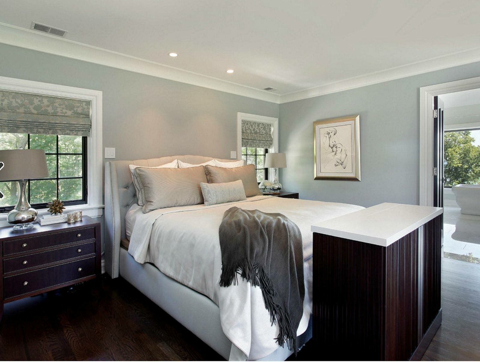 Benjamin Moore Beach Glass Bedroom paint colors master