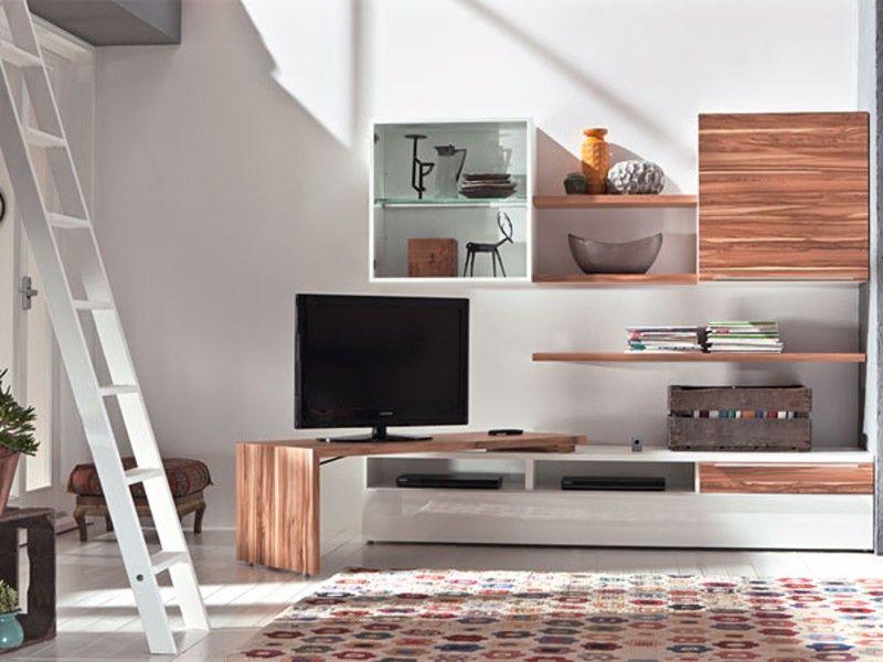 27 Wohnideen zum platzsparenden Einrichten Castles - wohnideen tv wand