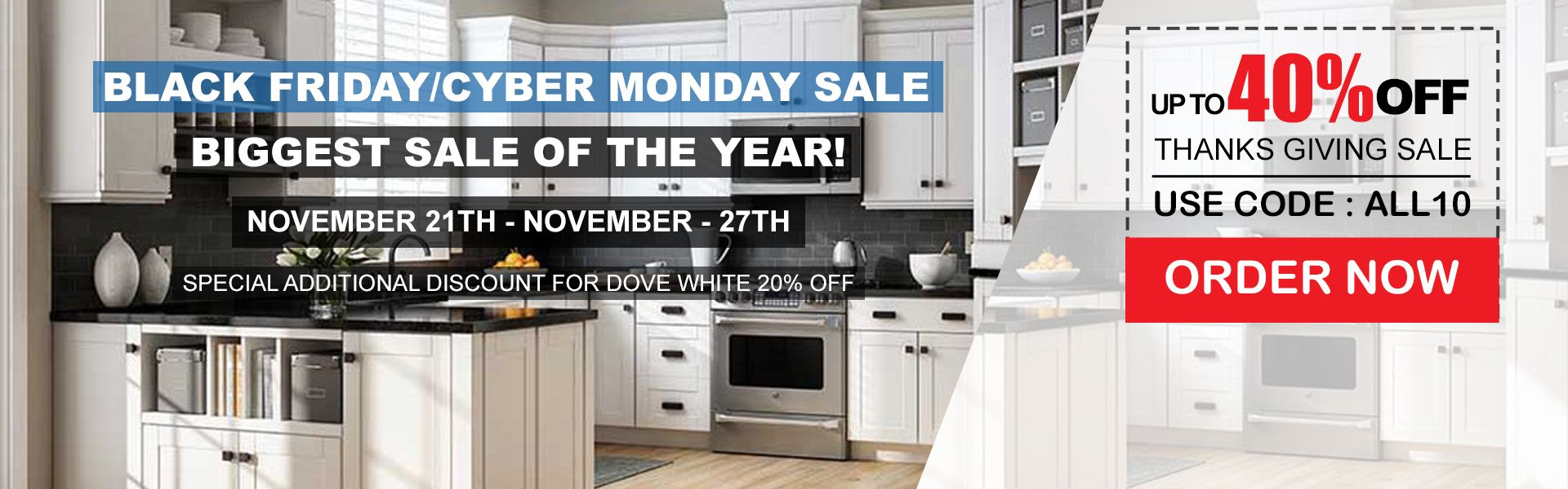 Black Friday Cyber Monday Biggest Sale Of The Years Online Kitchen Cabinets Rta Kitchen Cabinets Kitchen Cabinets For Sale