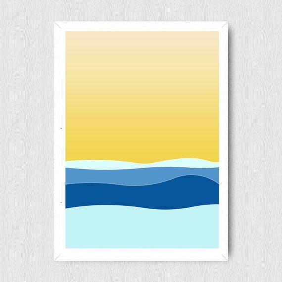 Printable Wall Art, Wall Art, Mint Print, Minimalist Print, Modern ...