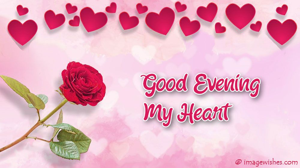Good Evening My Heart Good Evening Good Evening Wishes Good