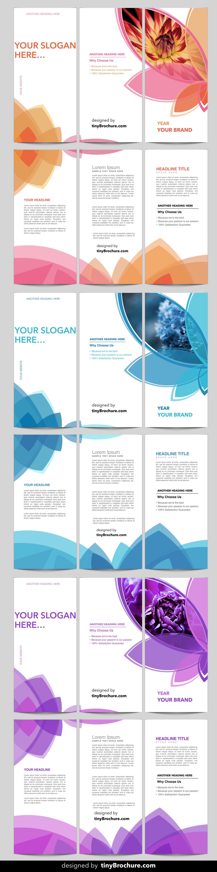 3 panel brochure template word format brochure template