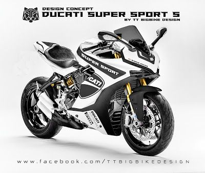 tt bigbike design ducati super sport s design concept 1. Black Bedroom Furniture Sets. Home Design Ideas