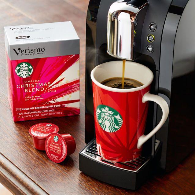73a2bca917a Starbucks® Christmas Blend Brewed Coffee Verismo™ Pods | Starbucks® Store