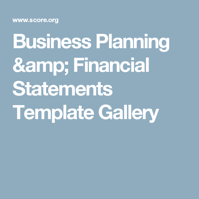 Business planning financial statements template gallery business find business planning finance sales marketing and management templates guides then get advice from a score mentor for one on one assistance along fbccfo Gallery