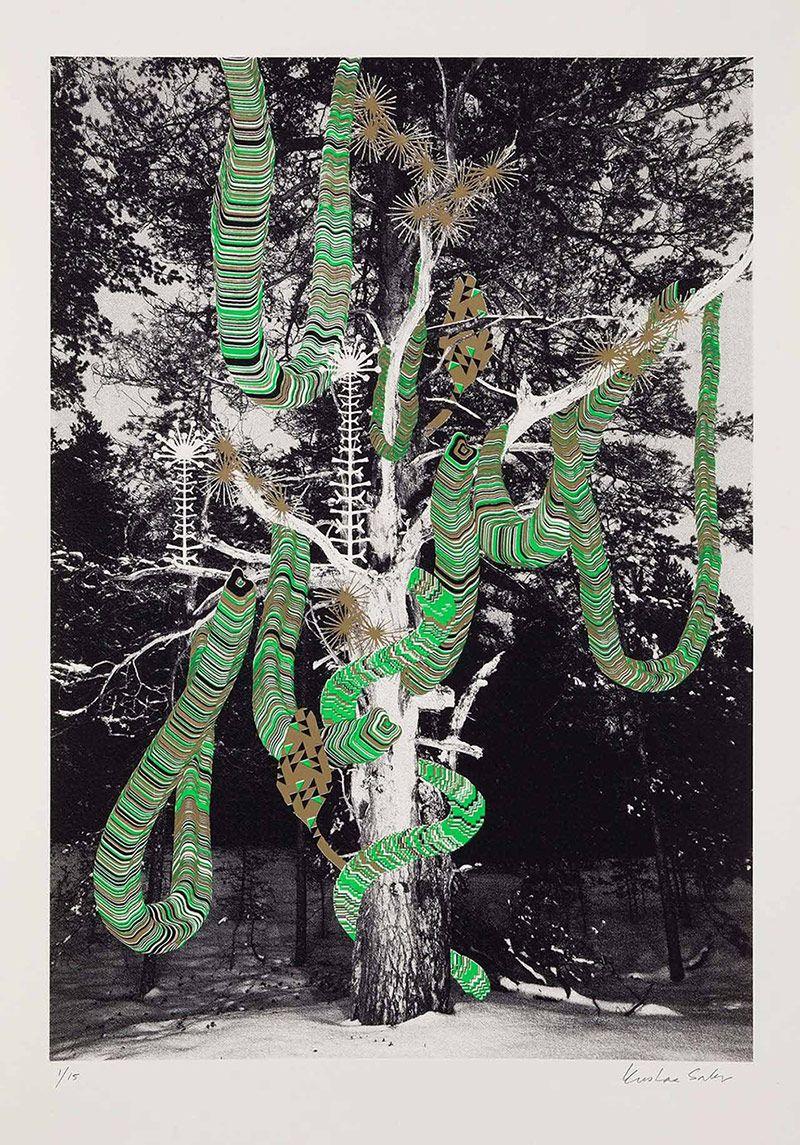 Kustaa Saksi teje alucinaciones  #arte