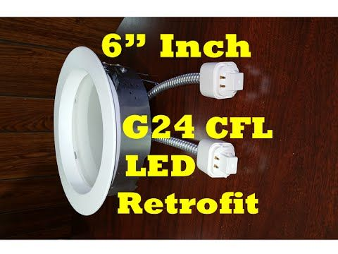 6 inch recessed can retrofit insert ballast stays in g24 pl