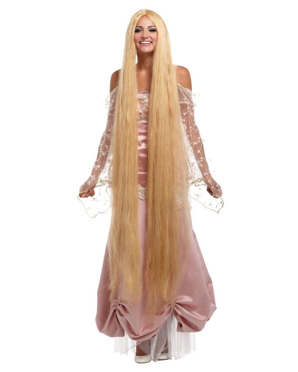 Rapunzel Langhaar Perucke Xxl Fur Fasching Karneval Universe Frisuren Langhaar Perucken Lange Haare