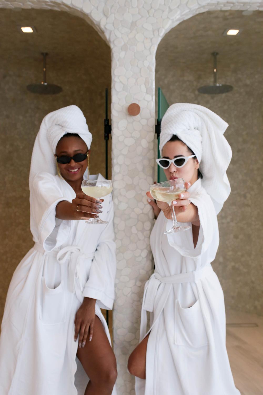 The Spa At Auberge Beach Ria Michelle Spa Girl Couples Spa Spa Day