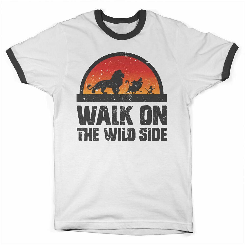 Licensed The Lion King Walk On The Wild Side Ringer T