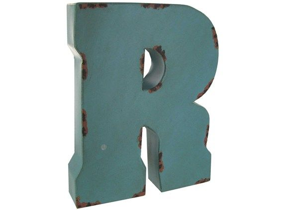 Large Metal Letter R Large Metal Letters  Letters Numbers & Symbols  Large Red