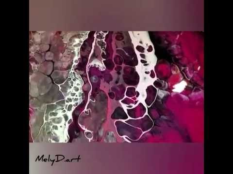 Fluid Painting Cell Action Result - MelyD.art Style - YouTube