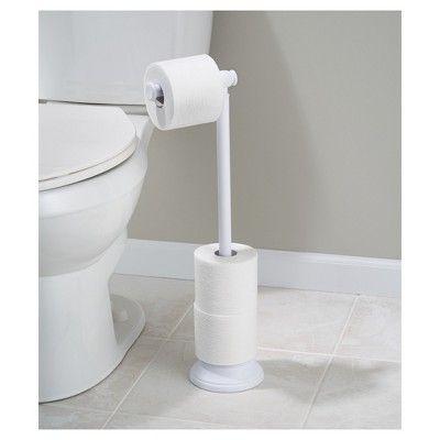 Free Standing Toilet Paper Holder White - InterDesign in 2018