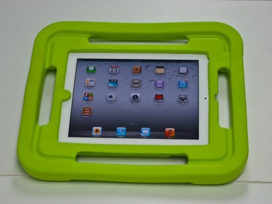 iKid a Shock Absorbing Foam ipad Case and Gaming Console by Laura Graham, via Kickstarter.